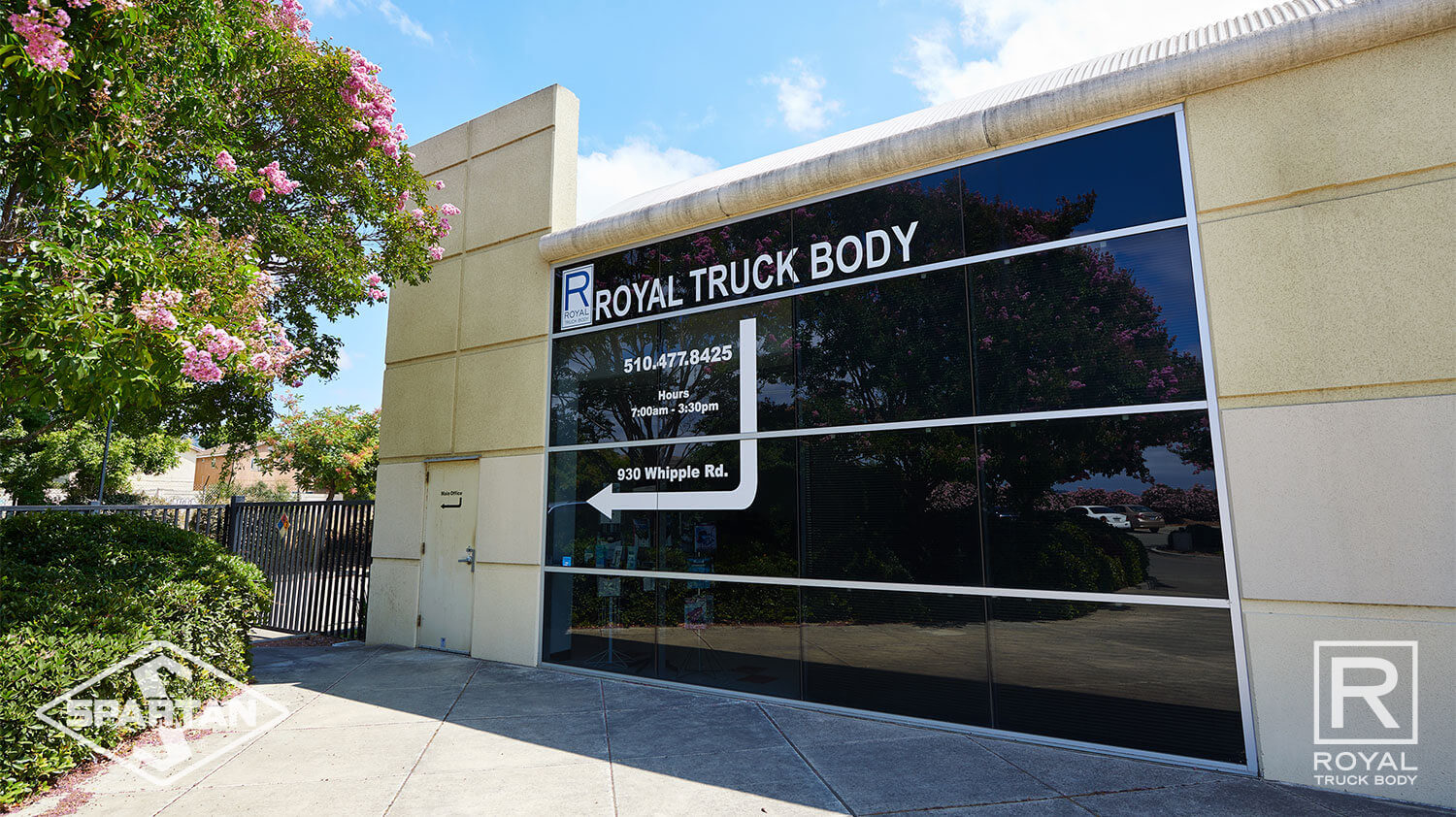 Union City, California Royal Truck Body facility