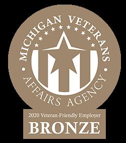 Spartan is a 2020 Bronze certified veteran friendly employer