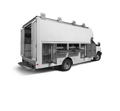 Trademaster Rear Passenger Side - Exterior Storage